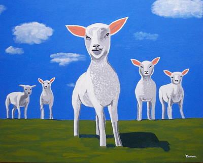 Ewe Talkin To Me Art Print by Eamon Reilly