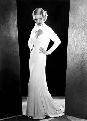 Ex-lady, Bette Davis, 1933 Art Print