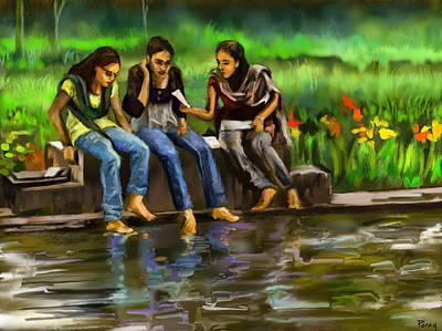 Digital Art - Exam Paper Leaked by Parag Pendharkar