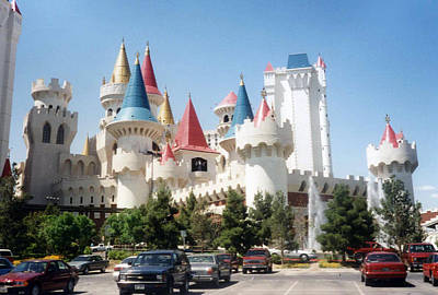 Photograph - Excalibur Hotel And Casino by Kay Novy