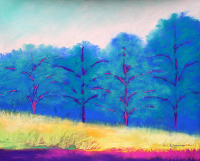 Painting - Exciting Landscape by Karin Eisermann