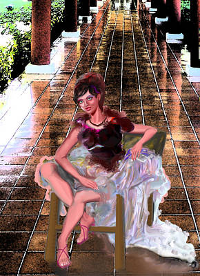 Eye Gestures Digital Art - Exclusive Dress  by Yelena Rubin