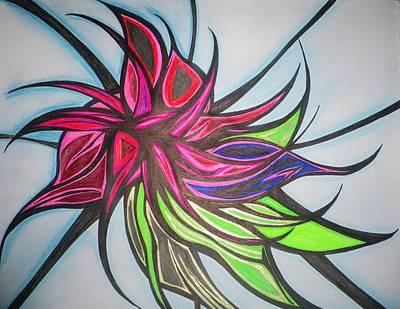 Excotic Breeze Art Print