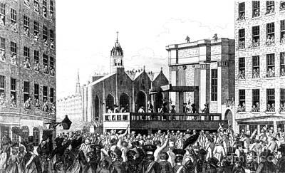 Execution Of William Burke, Irish Art Print