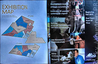Photograph - Exhibition Map 2010 by Glenn Bautista