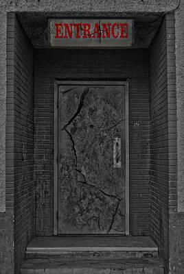 Exit Art Print by Jerry Cordeiro