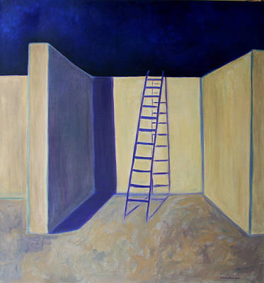 Painting - Exit -salida by Victoria Sheridan