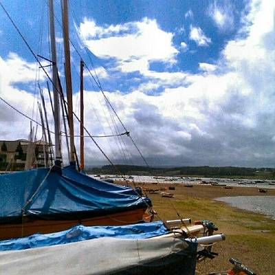 Photograph - #exmouth #instaquay #boat #boats by Kevin Zoller