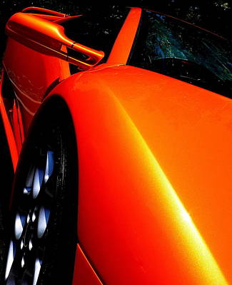 Photograph - Exotic Lamborghini by Jeff Lowe