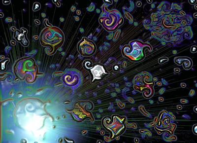 Exploding Star Art Print by Alec Drake