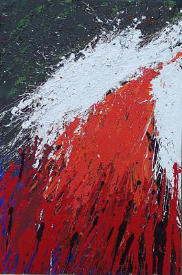 Brian Rock Wall Art - Mixed Media - Explosion 1 by Brian Rock