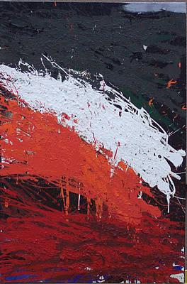 Brian Rock Wall Art - Mixed Media - Explosion 3 by Brian Rock