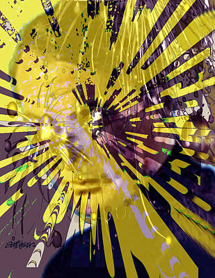 Raging Mixed Media - Explosive Thoughts by Seth Weaver