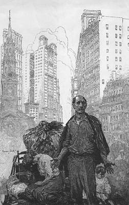 Expressive Engraving Depicting An Print by Everett