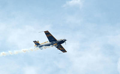 Photograph - Extra 300 Aerobatic Plane by Chris Day