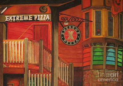 Painting - Extreme Pizza by Vikki Wicks