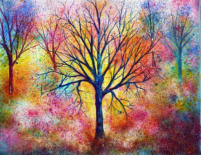 Vibrant Painting - Exuberance by Ann Marie Bone