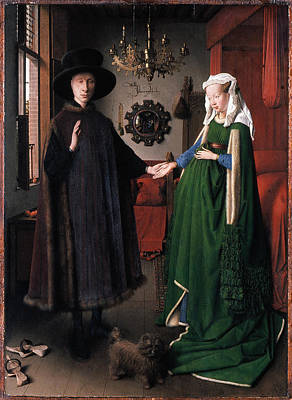 Romance Renaissance Photograph - Eyck: Arnolfini Marriage by Granger