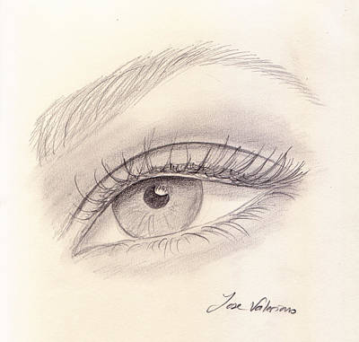 Eye Close Up Art Print