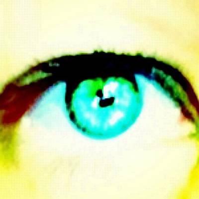 Pop Art Photograph - Eye Flick#2 by Manchester Flick Chick