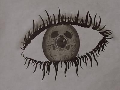 eye Art Print by Gary Southard