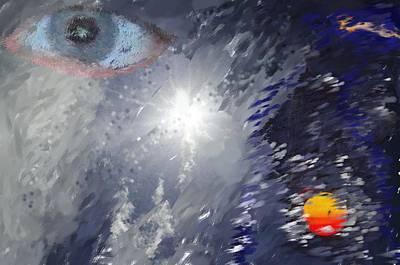 Eye In The Sky Art Print by Mark Stidham