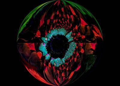 Eye Of A Peacock... Art Print by Tanya Tanski