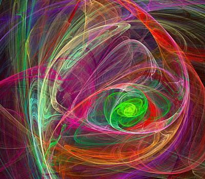 Digital Art - Eye Of The Storm by Ricky Barnard