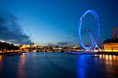 Photograph - Eye On Thames by Anthony Doudt