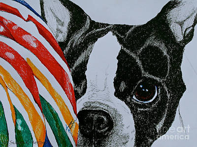 Soulful Eyes Drawing - Eye On The Prize by Susan Herber