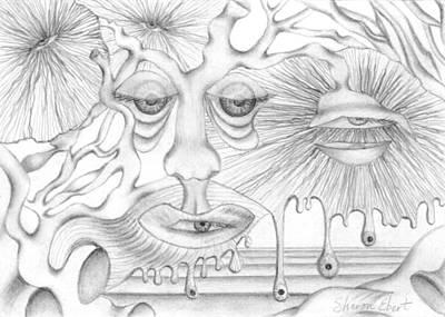 Eye Spies Art Print by Sharon Ebert