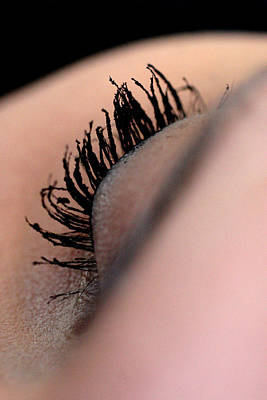Eyelashes Art Print by JL Creative  Captures