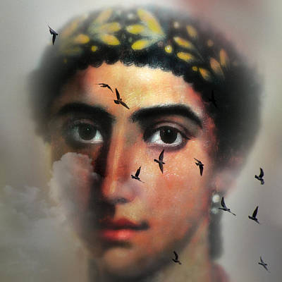 Eyes From The Past Art Print by Mostafa Moftah