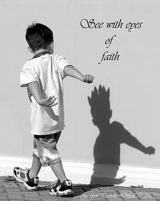 Photograph - Eyes Of Faith by Grace Dillon