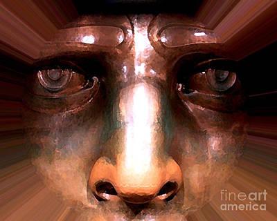 Eyes Of Liberty Art Print by Anne Raczkowski