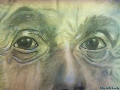 Eyes Of The Brain Art Print by Elizabeth Coats
