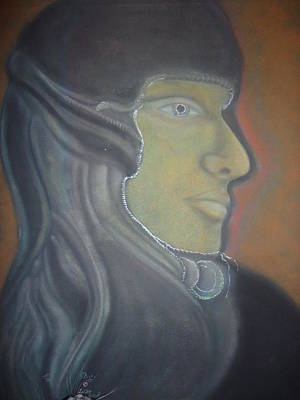 Eyes Of War Art Print