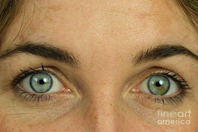 Eyes Art Print by Photo Researchers, Inc.