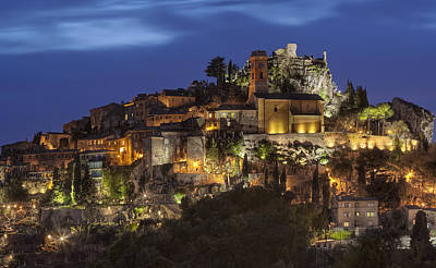 Photograph - Eze France by Al Hurley