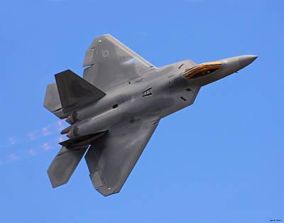 F-22 03 Art Print by Jeff Stallard