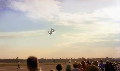 Photograph - F-4 Thunderbirds by Lynnette Johns