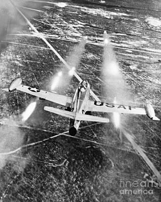 Photograph - F-84 Thunderjet, 1949 by Granger