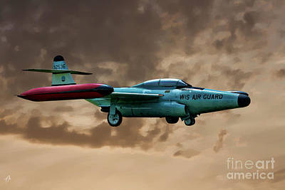 F-89 Scorpion Art Print by Tommy Anderson