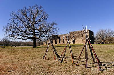 Choctaw Photograph - F O R T   W A S H I T A by Charles Dobbs