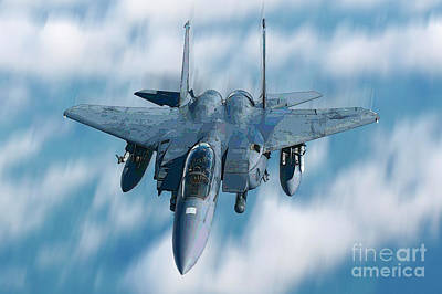 Photograph - F15 by Herb Paynter