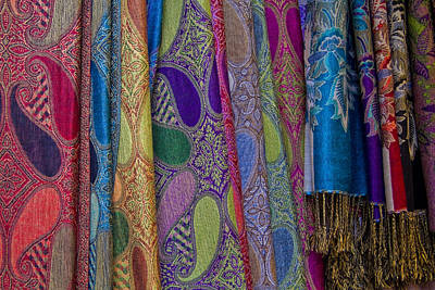 Photograph - Fabrics And Colors Of Italy by Roger Mullenhour
