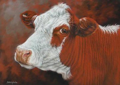 Painting - Fabulous Freda by Margaret Stockdale