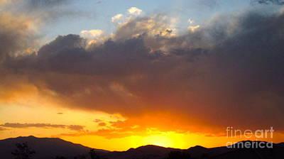 Fabulous Sunset Art Print by Phyllis Kaltenbach