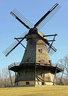 Fox River Mills Photograph - Fabyan Windmill by Jenny Hudson