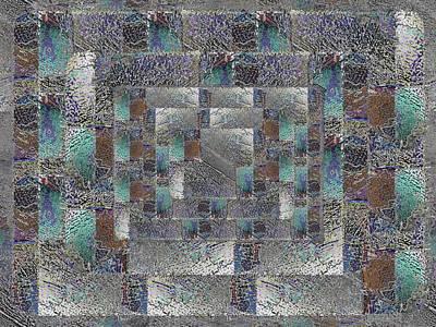Digital Art - Facade 12 by Tim Allen